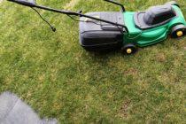 Kleiner Rasenmäher elektro