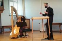 Konzert mit Hackbrett und Harfe